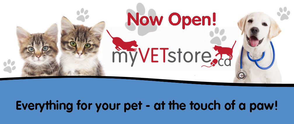 My Vet Store Now Open